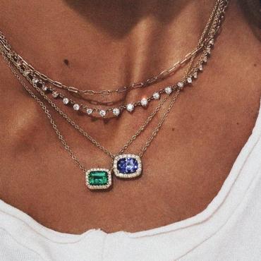 Lovely Stylish Silver Necklace