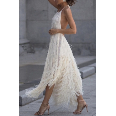 Lovely Sweet Off The Shoulder Backless White Knee Length A Line Prom Dress
