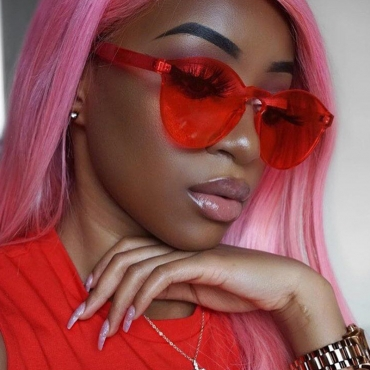 Lovely Trendy Red PC Sunglasses