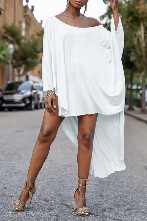 Lovely Leisure Loose White Blouse