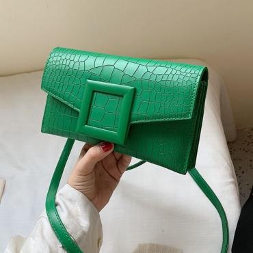 Lovely Chic Green Messenger Bag