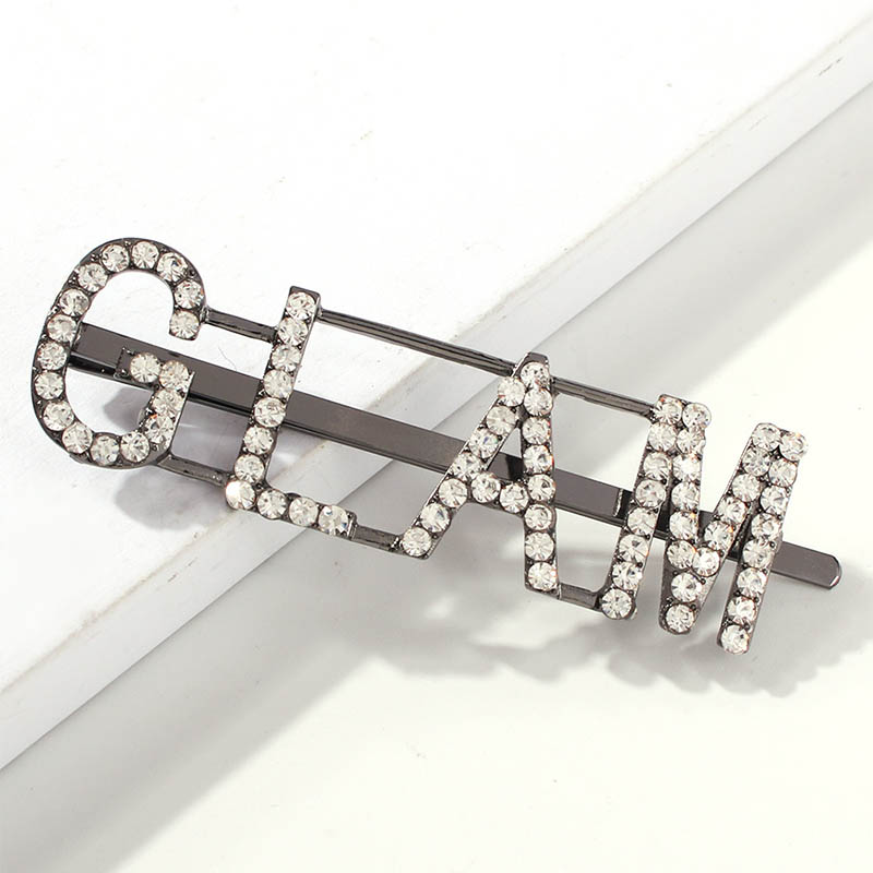 Lovely Chic Letter Printed Silver Hairpin