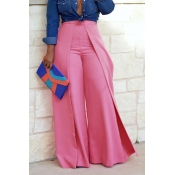Lovely Trendy Loose Pink Pants