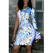 Lovely Casual Sequined Decorative Multicolor Mini