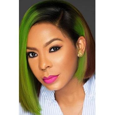Lovely Chic Bobo Green Wigs