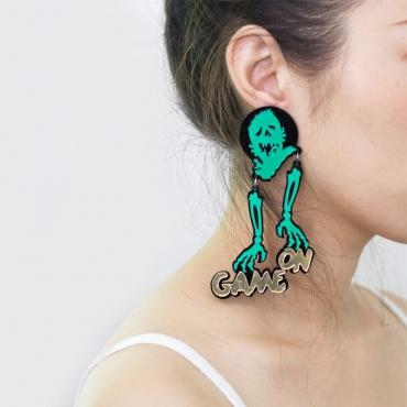 Lovely Chic Green Earring