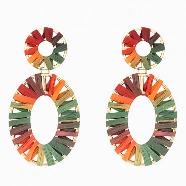 Lovely Chic Multicolor Earring