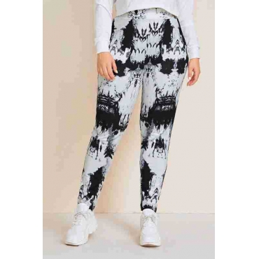 Lovely Casual Printed White Plus Size Pants