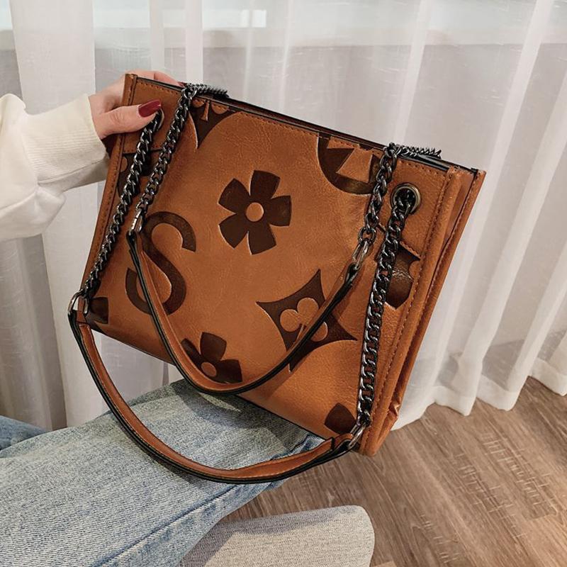 Lovely Trendy Brown Messenger Bag