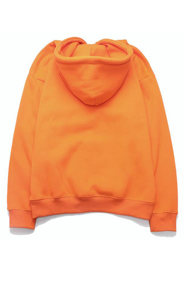 Lovely Casual Hooded Collar Croci Hoodie