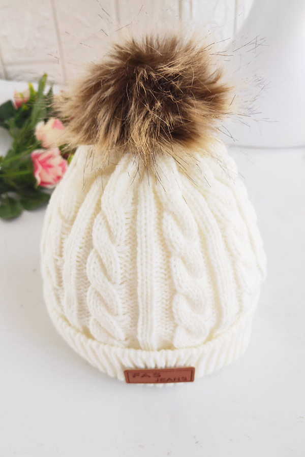 Lovely Cute White Girls Beanie