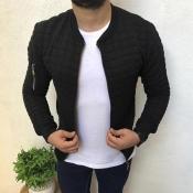 Lovely Casual Basic Black Jacket