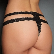 Lovely Sexy Hollow-out Black Intimates Accessories