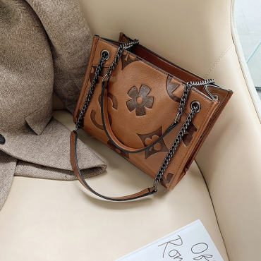 Lovely Trendy Brown Messenger Bag