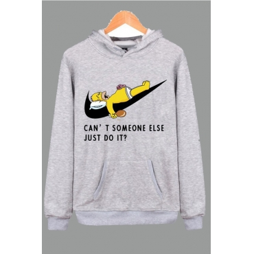 Lovely Leisure Character Grey Hoodie