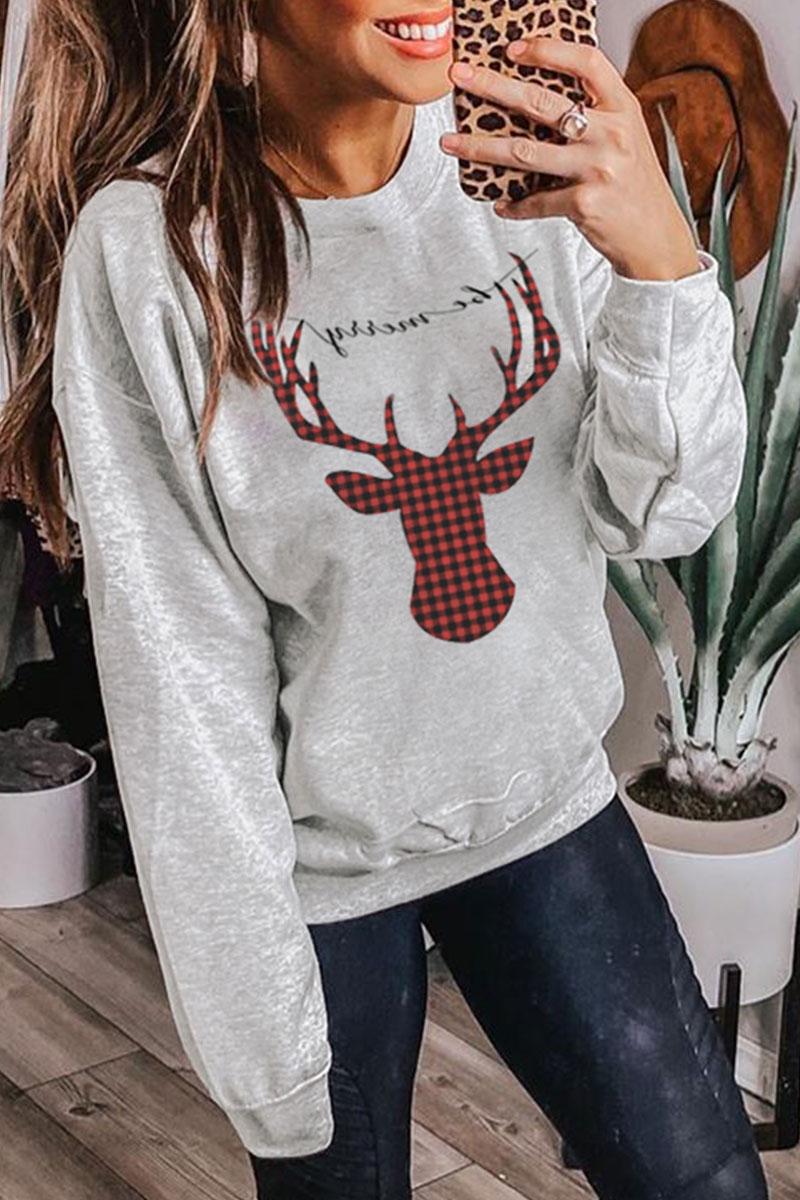 Lovely Christmas Day Grey Sweatshirt