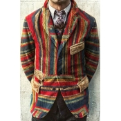 Lovely Bohemian Striped Khaki Formal Wear