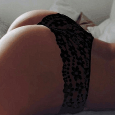 Lovely Sexy Lace Black Panties