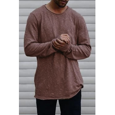 Lovely Leisure Basic Wine Red T-shirt