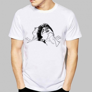 Lovely Leisure Basic White T-shirt