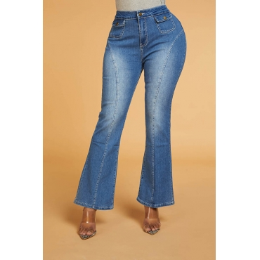 Lovely Chic Make Old Blue Jeans
