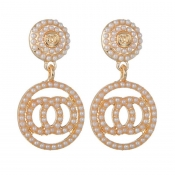 Lovely Chic Gold Earring