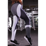 Lovely Sportswear Print Black Pants