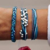 Lovely Bohemian Blue Bracelet
