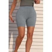 Lovely Sportswear Skinny Grey Shorts