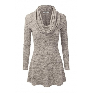 Lovely Casual Basic Grey Plus Size Hoodie