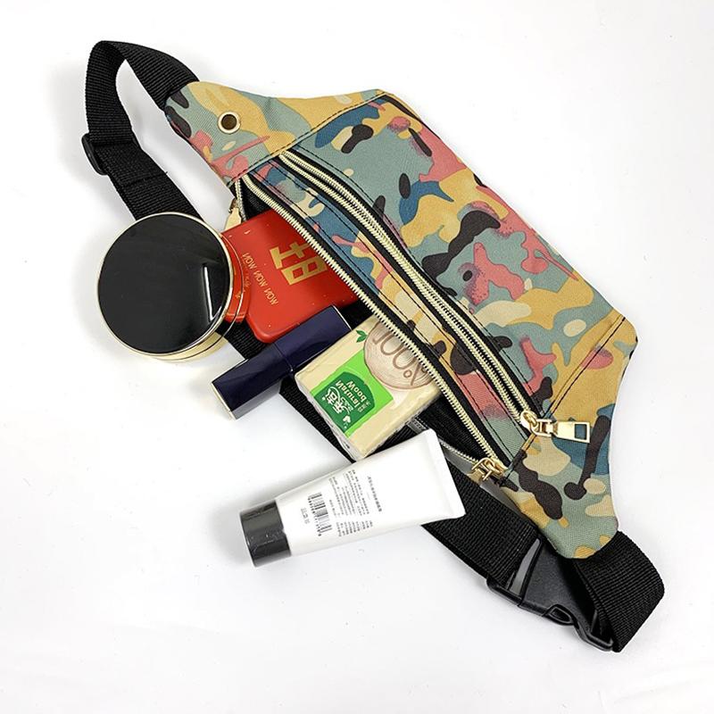 Lovely Trendy Print Yellow Crossbody Bag