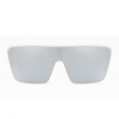 Lovely Chic Big Frame Design White Sunglasses