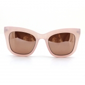 Lovely Trendy Big Frame Design Pink Sunglasses