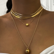 Lovely Chic Gold Necklace