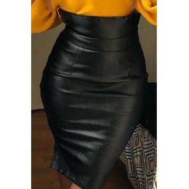 Lovely Sexy Skinny Black Skirt