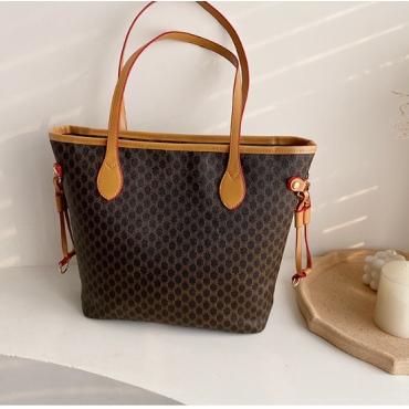 Lovely Casual Zipper Design Brown Crossbody Bag