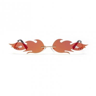 Lovely Chic Blaze Red Sunglasses