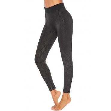 Lovely Casual Basic Skinny Black Plus Size Pants