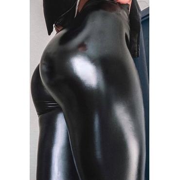 Lovely Sexy Basic Black Plus Size Pants