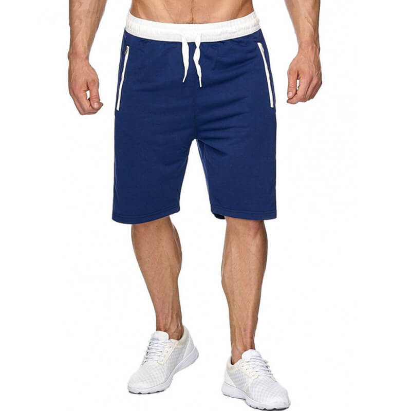 Lovely Sportswear Lace-up Blue Shorts