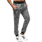Lovely Leisure Lace-up Light Grey Pants