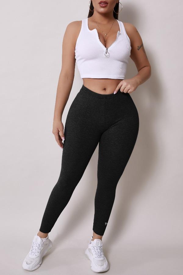Lovely Sportswear Basic Skinny Black Pants