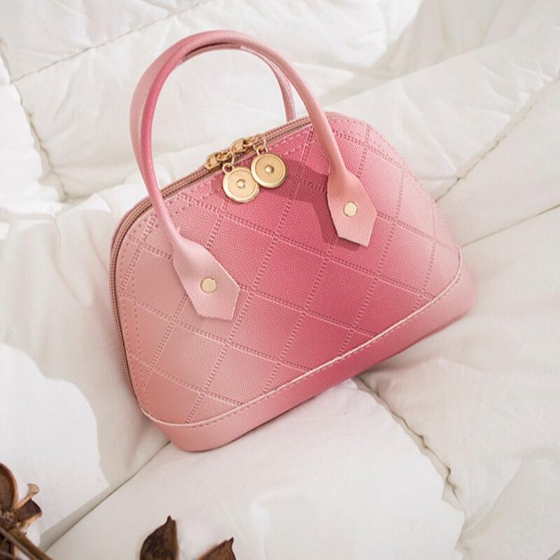 Messenger Bag&Crossbody Bag lovely Stylish Zipper Design Pink Crossbody Bag фото