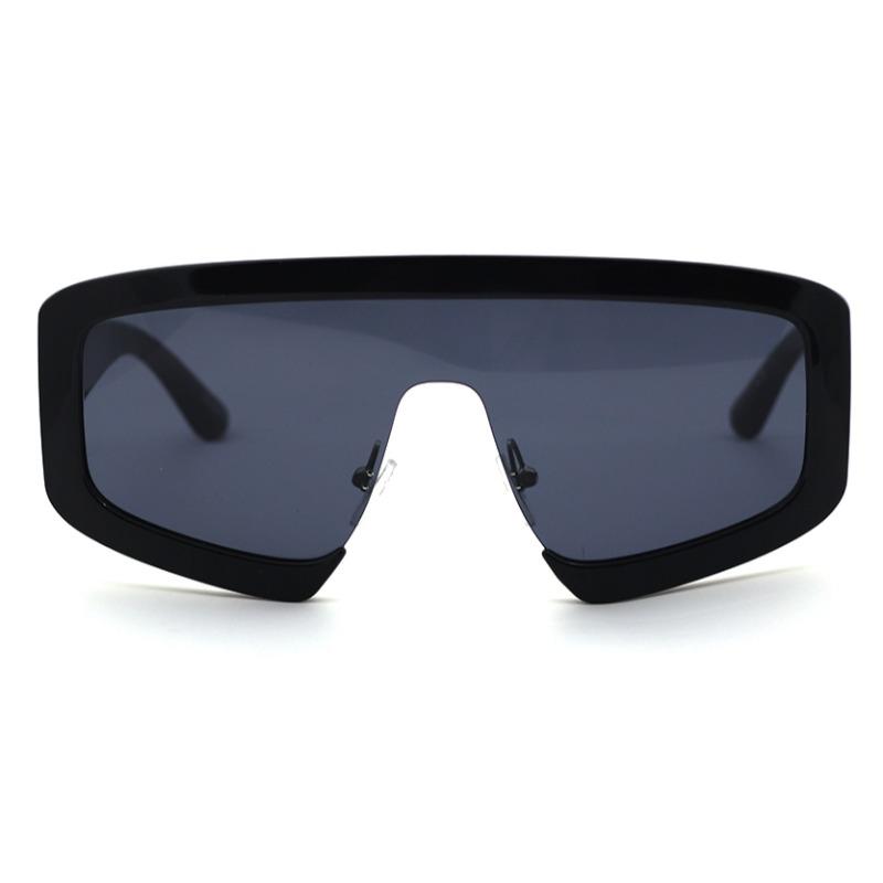 Lovely Chic Big Frame Design Black Sunglasses фото