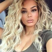 Lovely Trendy Long Wavy Gold Wigs