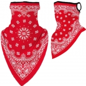 Lovely Sportswear Print Red Face Mask