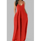 Lovely Leisure Pocket Patched Jacinth Maxi Plus Si