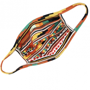 Lovely Cosy Print Multicolor Face Mask