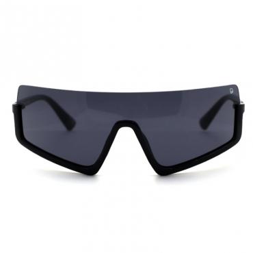 lovely Chic Big Frame Design Black Sunglasses