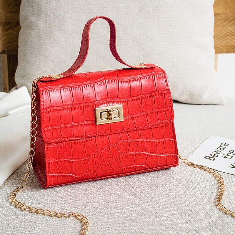 Messenger Bag&Crossbody Bag lovely Sweet Zipper Design Red Messenger Bag фото